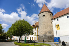 Free Massive Tower Of Yverdon`s Castle Royalty Free Stock Images - 95329709