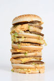 Massiver Burger Stockfotografie
