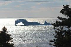 Massiver Eisberg Stockbild