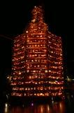 Massiver Kürbis-Kontrollturm stockfoto
