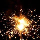 Massives Feuerwerk Lizenzfreie Stockfotos