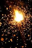 Massives Feuerwerk Stockfotografie