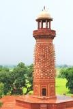 Massivt Fatehpur Sikri fort och komplex Uttar Pradesh Indien Arkivbilder