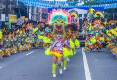 2018 Masskara-festival stock foto's