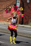 MassKara Festival Society Dancer, Pinoy Fiesta Parade Royalty Free Stock Image