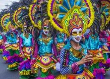 2018 Masskara festiwal zdjęcie royalty free