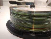 Massmedia för CD-SKIVA för högod CD Fotografering för Bildbyråer