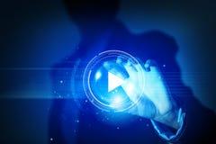 Massmediateknologier i våra händer Arkivfoton