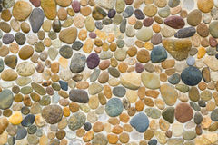 Masso di colore sulla parete Immagini Stock