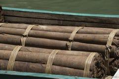 Massoia-Holz Stockfoto