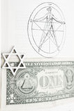 Masson de Pentagram Photos stock