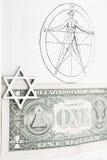 masson pentagram Zdjęcia Stock
