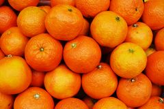 Massor av apelsinbakgrund Arkivbild