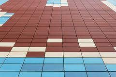 Massor av färgrika rektanglar Royaltyfri Bild