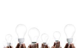 Massor av idéer Arkivfoton