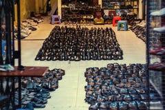 Massor av skor Royaltyfri Fotografi