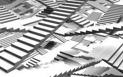 Massor av trappa Arkivfoton