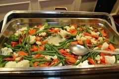 Massor av veggies för gästerna Royaltyfria Foton