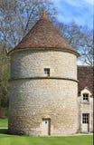 Mast Abbaye de Fontenay, Burgunder Lizenzfreies Stockfoto