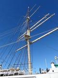 Mast av skeppet arkivbild