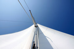 Mast from below Royalty Free Stock Photo
