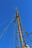Mast from below Royalty Free Stock Photography