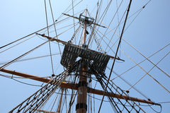 Mast and cable Stock Image