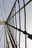 Mast en kabel Royalty-vrije Stock Foto