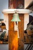 Mast för skepp` s Klocka på Arkivfoto