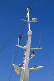 Mast of a ferry Royalty Free Stock Photos