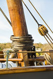 Mast hoops Stock Image