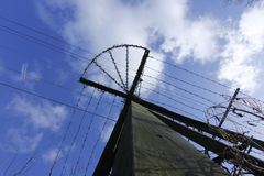 Mast im Himmel. Lizenzfreie Stockfotografie