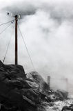 Mast of meteorological station Royalty Free Stock Photography