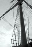 Mast of old galleon Royalty Free Stock Photos
