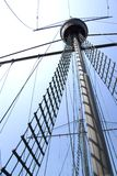 Mast of Portuguese Galleon Stock Images