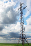 Mast of power line Royalty Free Stock Image
