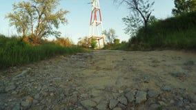 Mast power stock video