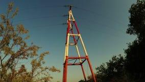 Mast power stock video footage