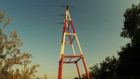 Mast power stock footage