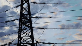 Mast Power Time Lapse stock footage