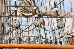Mast and Rigging Royalty Free Stock Photo