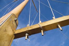 Mast and rigging 2 Royalty Free Stock Photography
