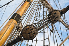 Mast and rigging Royalty Free Stock Photography