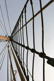 Mast and rope Royalty Free Stock Photo