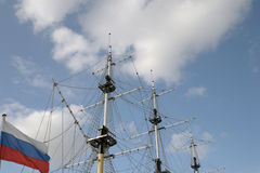 Mast of Russia Stock Images