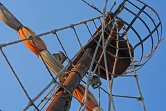 Mast of the sail Royalty Free Stock Images