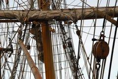Mast and sail Royalty Free Stock Photos