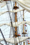 Mast and sail Stock Photography