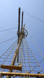 Mast of a sailboat in Dubrovnik Royalty Free Stock Photography