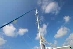 Mast sailing Stock Photography